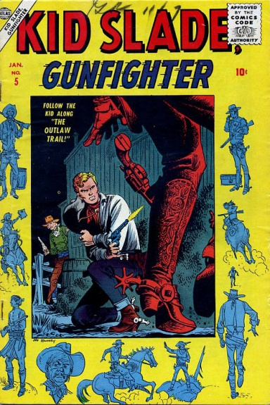 Kid Slade, Gunfighter 5 Cover Image