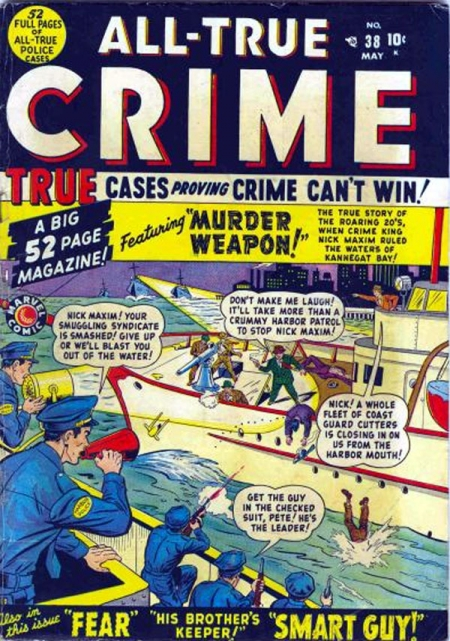 All True Crime Cases Comics 38 Cover Image