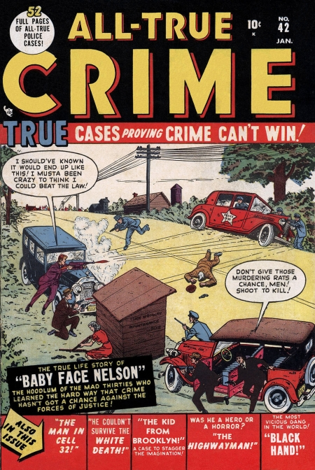 All True Crime Cases Comics 42 Cover Image