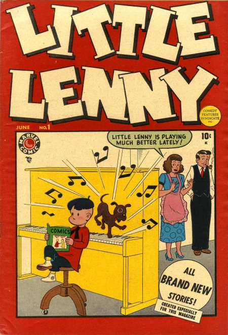 Little Lenny 1 Cover Image