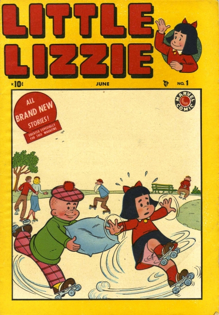Little Lizzie 1 Cover Image