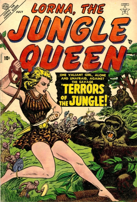 Lorna, the Jungle Queen 1 Cover Image