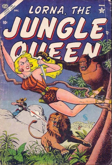Lorna, the Jungle Queen 4 Cover Image