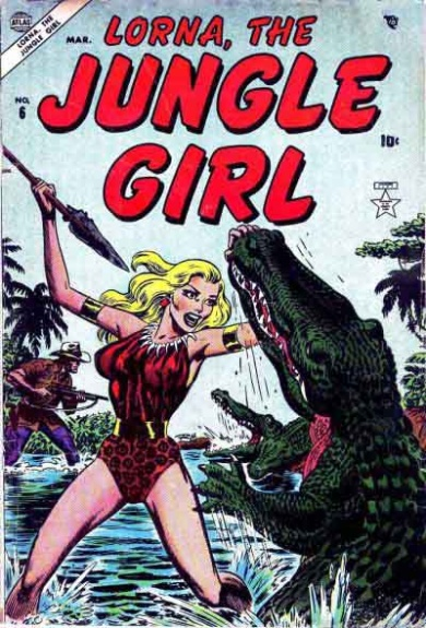 Lorna, the Jungle Girl 6 Cover Image