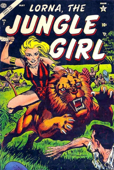 Lorna, the Jungle Girl 7 Cover Image