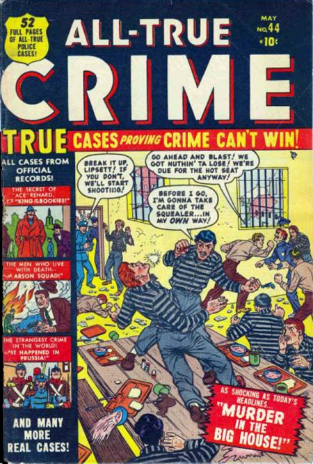 All True Crime Cases Comics 44 Cover Image