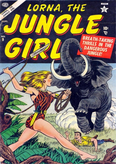 Lorna, the Jungle Girl 9 Cover Image