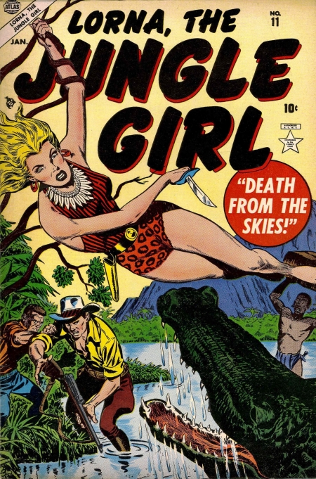 Lorna, the Jungle Girl 11 Cover Image