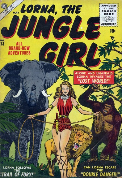 Lorna, the Jungle Girl 13 Cover Image