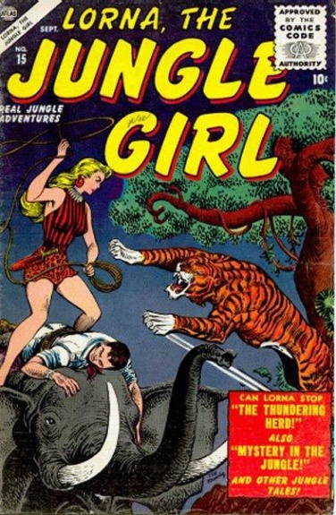 Lorna, the Jungle Girl 15 Cover Image