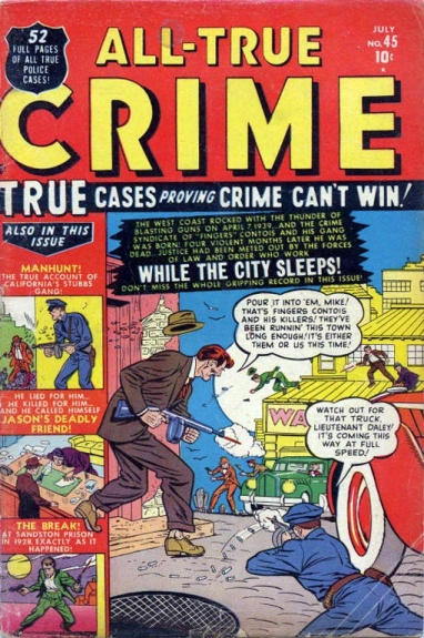 All True Crime Cases Comics 45 Cover Image