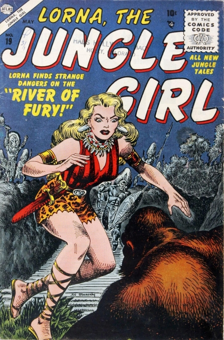 Lorna, the Jungle Girl 19 Cover Image