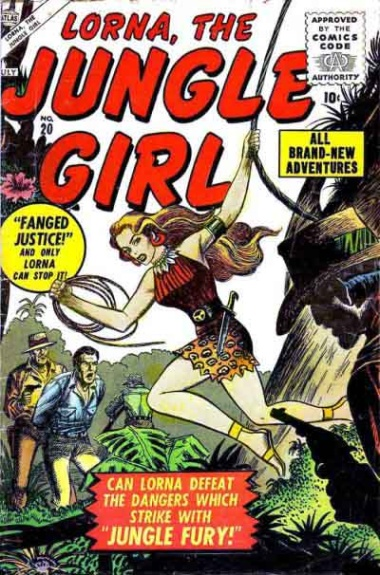 Lorna, the Jungle Girl 20 Cover Image