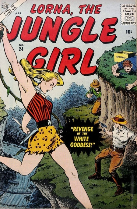 Lorna, the Jungle Girl 24 Cover Image