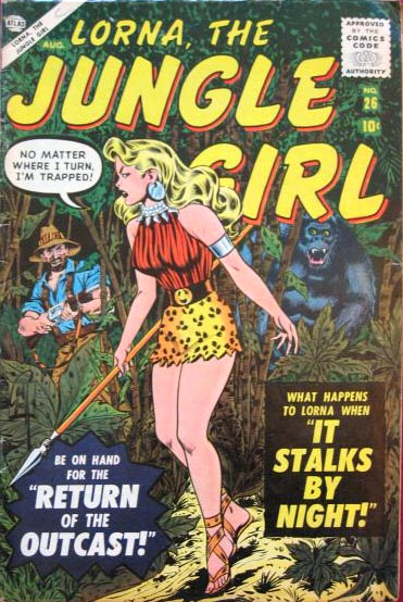 Lorna, the Jungle Girl 26 Cover Image