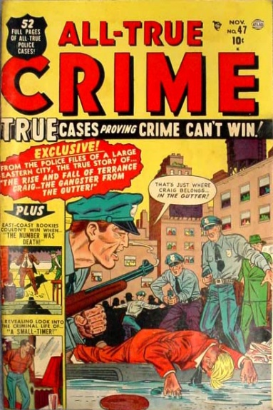 All True Crime Cases Comics 47 Cover Image
