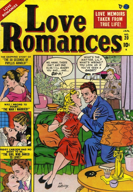 Love Romances 20 Cover Image