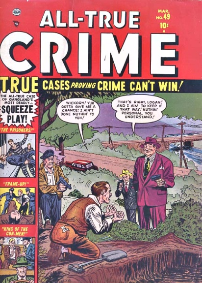 All True Crime Cases Comics 49 Cover Image