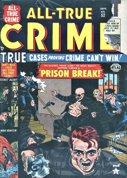 All True Crime Cases Comics 52 Cover Image