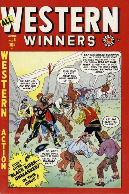 All Western Winners 4 Cover Image