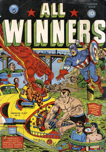 All Winners Comics 5 Cover Image