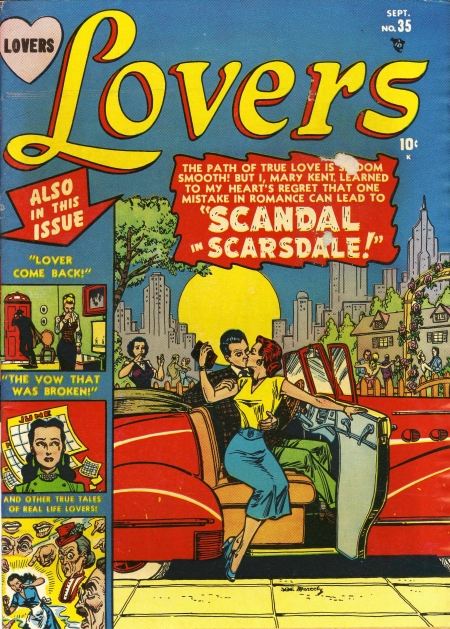 Lovers 35 Cover Image
