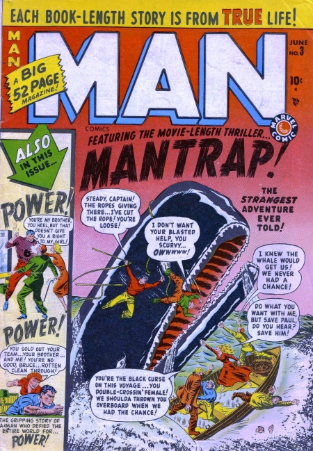 Man Comics 3 Cover Image