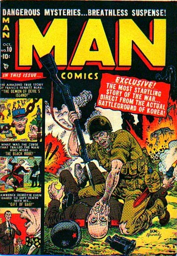Man Comics 10 Cover Image