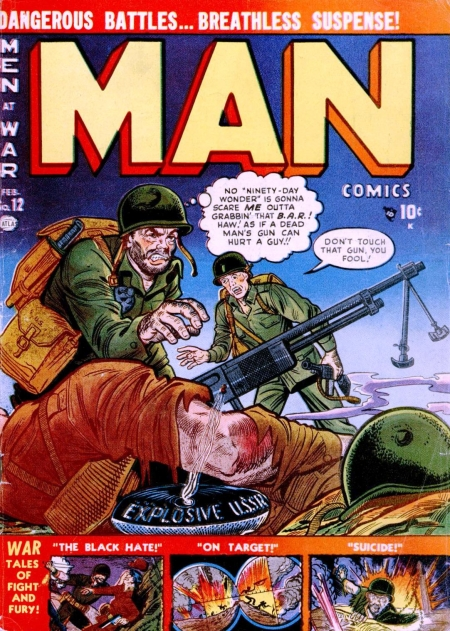 Man Comics 12 Cover Image