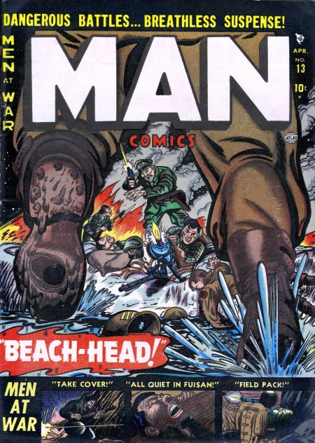 Man Comics 13 Cover Image
