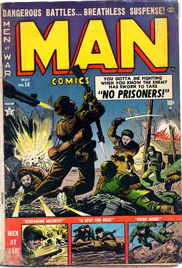 Man Comics 14 Cover Image