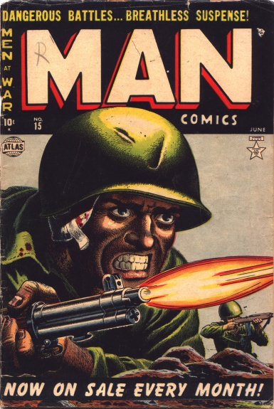 Man Comics 15 Cover Image