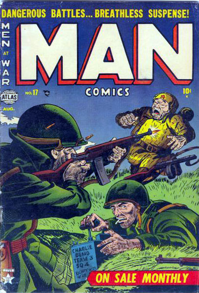 Man Comics 17 Cover Image