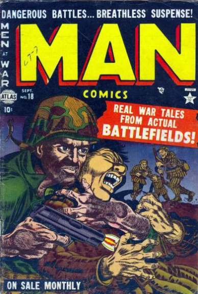 Man Comics 18 Cover Image