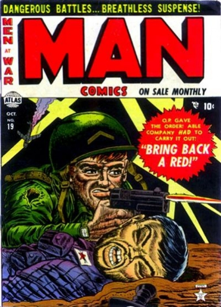 Man Comics 19 Cover Image