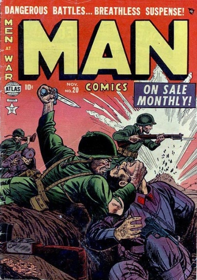 Man Comics 20 Cover Image