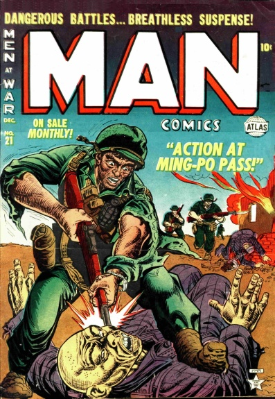 Man Comics 21 Cover Image