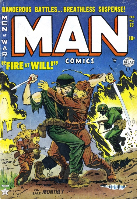 Man Comics 23 Cover Image