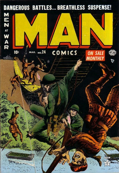 Man Comics 24 Cover Image