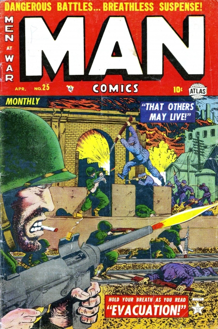 Man Comics 25 Cover Image