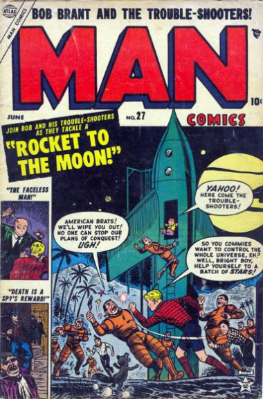 Man Comics 27 Cover Image