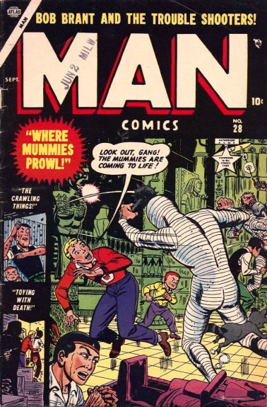 Man Comics 28 Cover Image