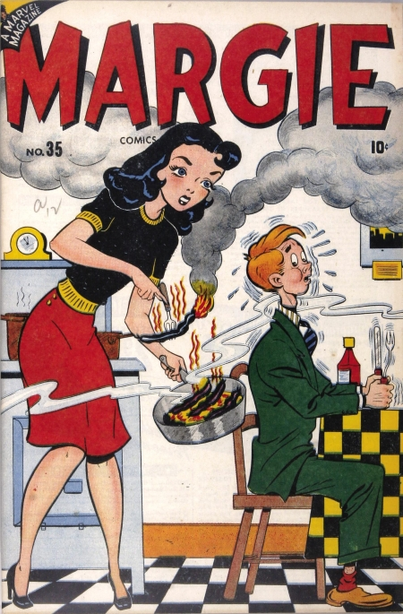 Margie Comics 35 Cover Image