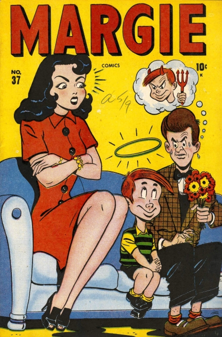 Margie Comics 37 Cover Image
