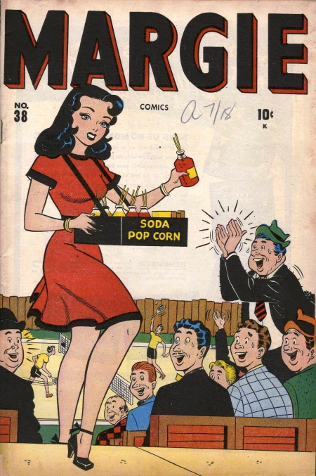 Margie Comics 38 Cover Image