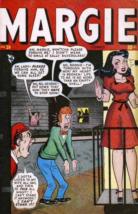 Margie Comics 39 Cover Image