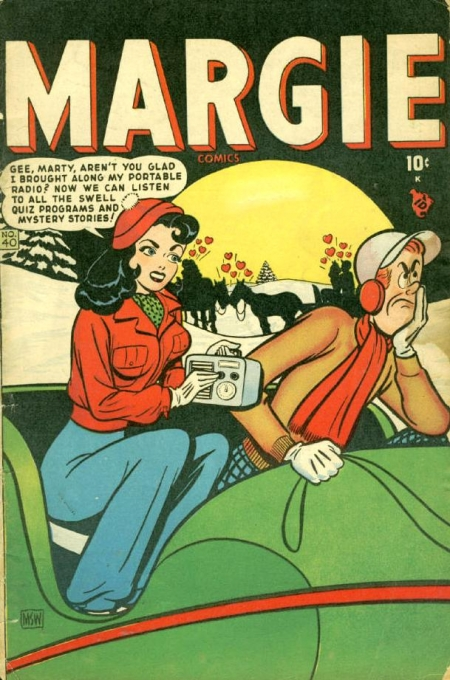 Margie Comics 40 Cover Image