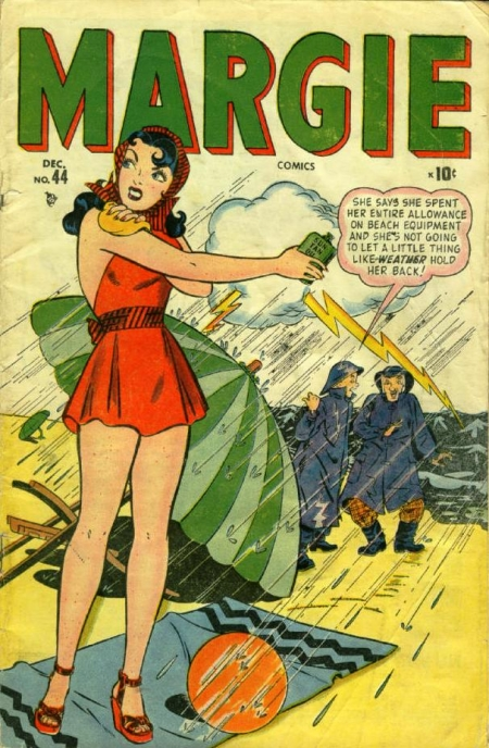 Margie Comics 44 Cover Image