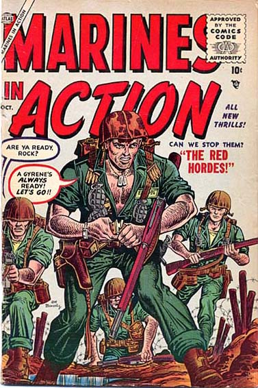 Marines in Action 3 Cover Image