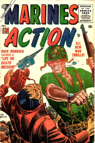 Marines in Action 4 Cover Image